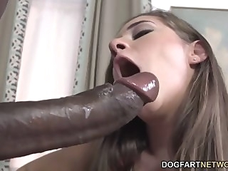Cassidy Klein Pleases A Big Black Cock With Her Feet big cock spankwire foot fetish
