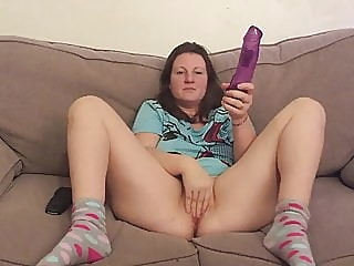 finally she agrees to let me masturbate while shes dildoing amateur spankwire brunette