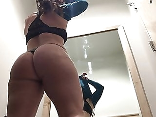 Changing Room Voyeur - Shopping Mall amateur spankwire brunette
