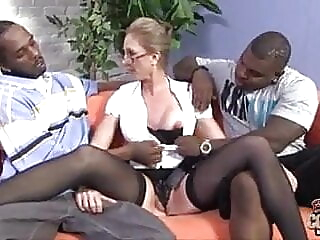 55yr old pawg granny plowed by BBCs interracial spankwire granny
