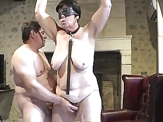Suzi's helpless orgasm bdsm spankwire old & young