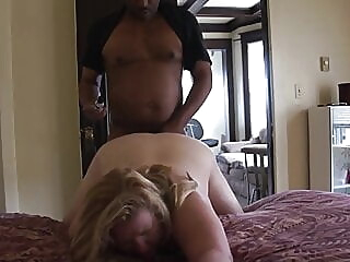 Milf Namby-pamby wife needs BBC as soon as tighten one's belt is at work. BBW BBC bbw spankwire mature