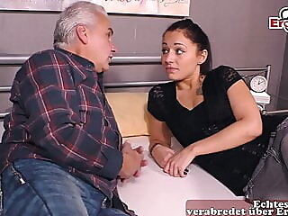 18yo young stepdaughter fucks old man, stepfather, grandpa amateur spankwire blowjob